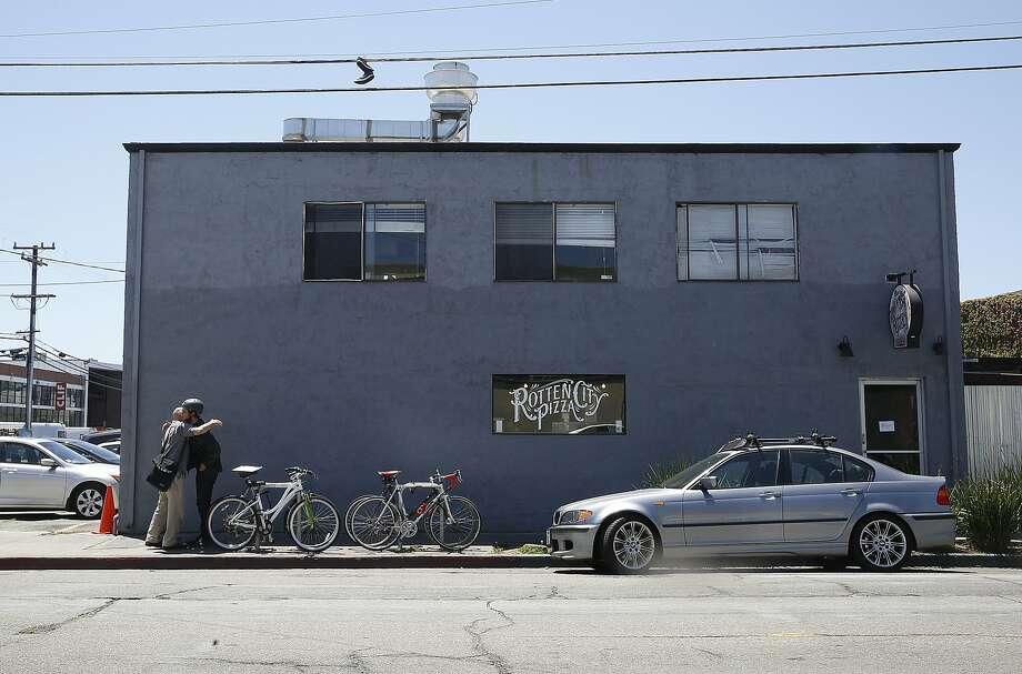 Rotten City Pizza in Emeryville. Photo: Liz Hafalia, The Chronicle