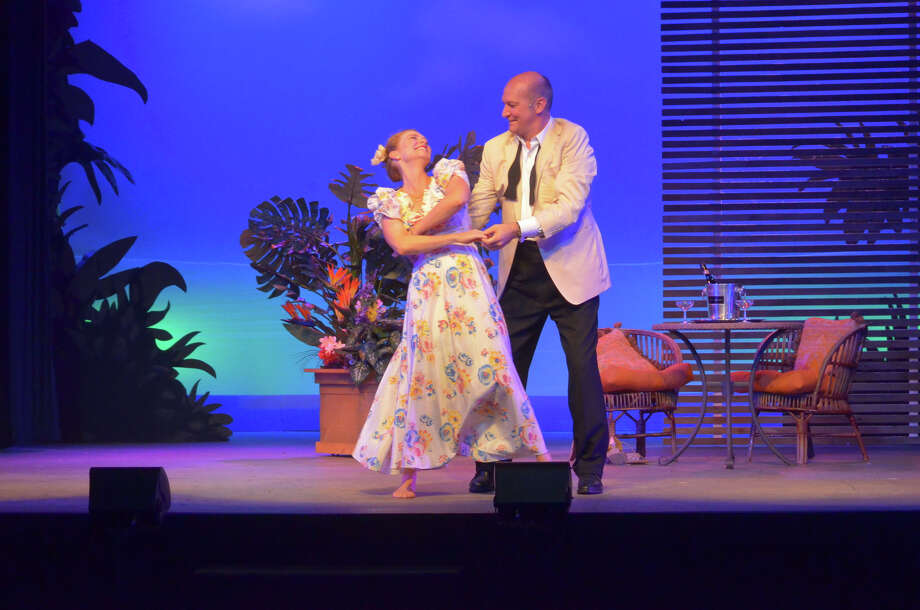 "The Pulitzer Prize-winning Rodgers and Hammerstein musical ""South Pacific"" is at Ivoryton Playhouse through July 26 with David Pittsinger and Adrianne Hick in the starring roles. Photo: Contributed Photo / Connecticut Post Contributed"