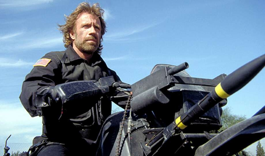 """Chuck Norris stars in the corny hijack thriller """"The Delta Force."""" Photo:  MGM Home Entertainment"""