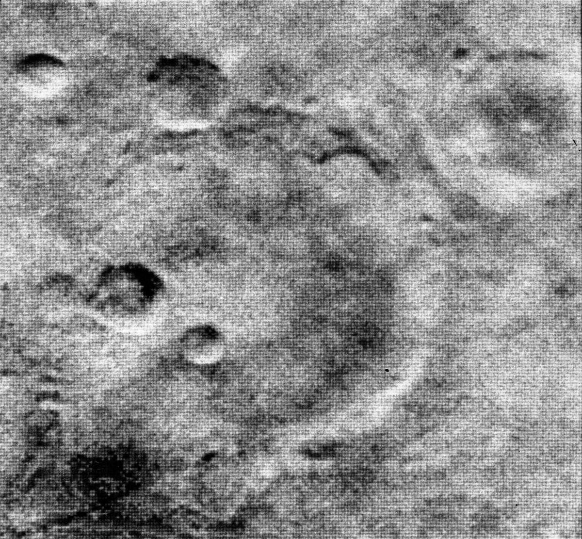 Mars Date: July 15, 1965 Spacecraft: Mariner 4