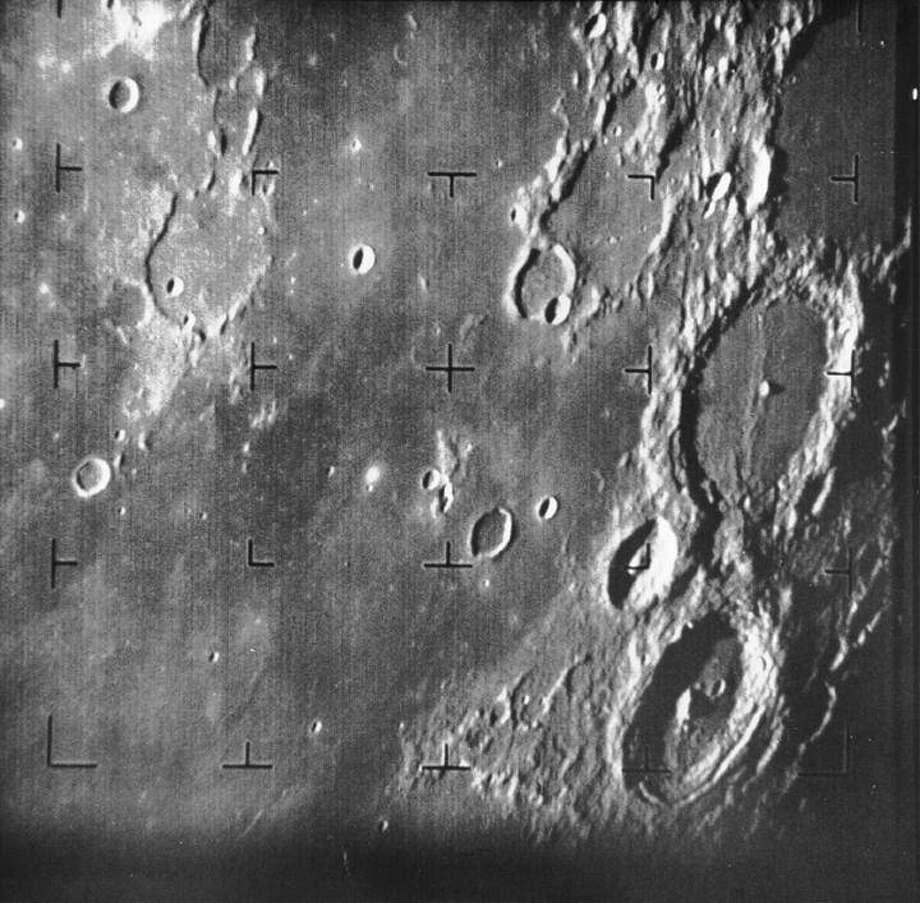 Images of famous NASA first encountersSurface of Earth's moonDate: July 31, 1964Spacecraft: Ranger 7Source: NASA Photo: NASA