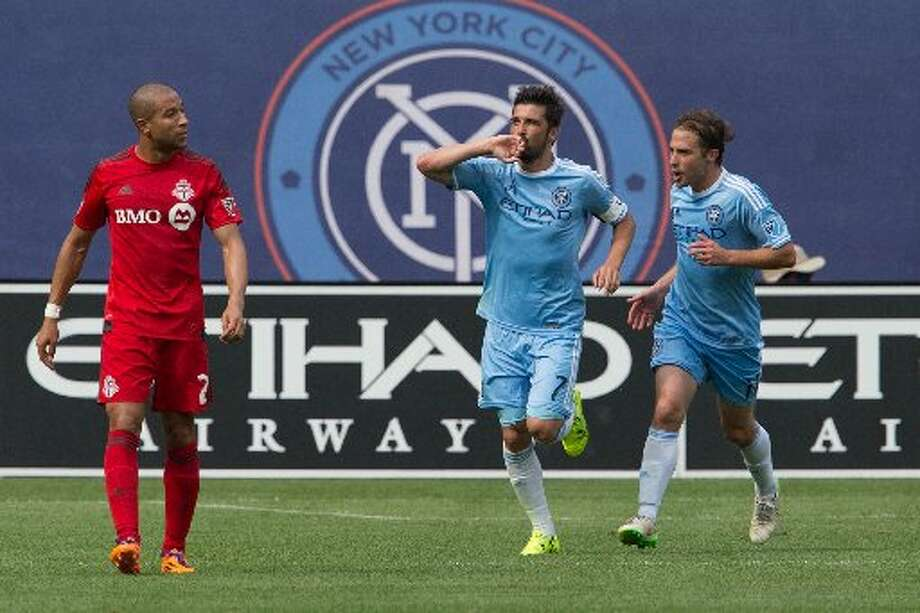 New York City FC's David Villa has scored in both games he has played against the Dynamo. He'll get another chance on Saturday in East Hartford, Conn.