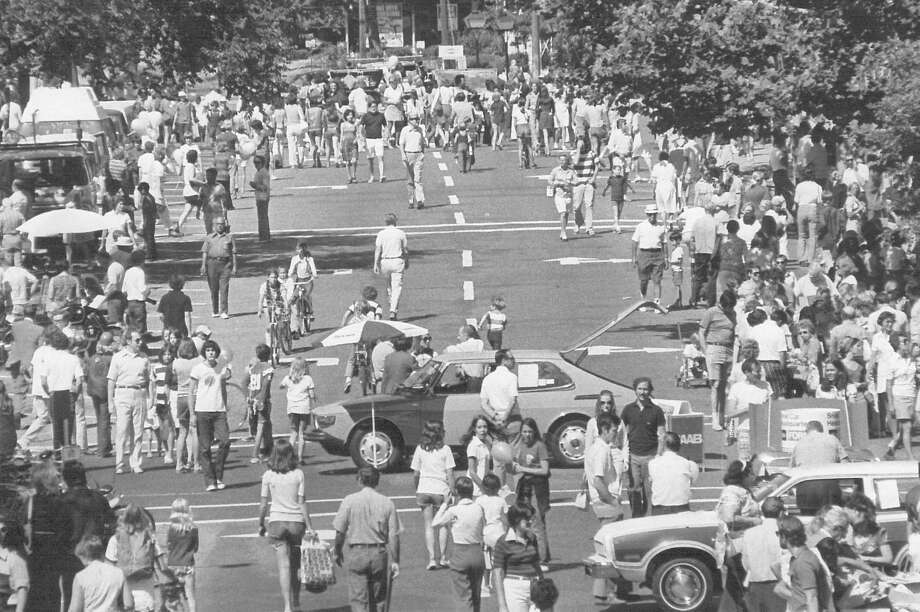 An undated image from a New Canaan Village Fair and Sidewalk Sale, which will mark its 50th year downtown Saturday July 18, 2015 with 125 vendors. The sale will be from 9 a.m. to 5 p.m. Photo: Contributed / Contributed Photo / New Canaan News