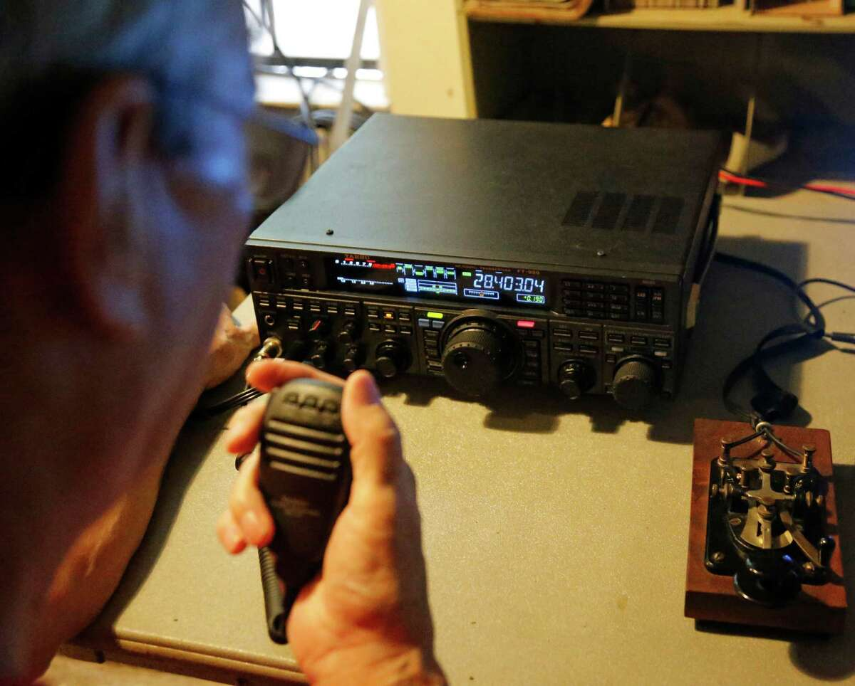 Robert Bentley says the ham radio is growing as a hobby.Robert Bentley says the ham radio is growing as a hobby.