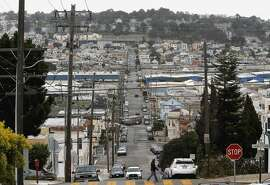 Looking east down Ingalls St. in the Bayview Hunters Point neighborhood,  in San Francisco, Calif., on Tues. July 14, 2015. Most of the money developer, Lennar Urban committed for local job training and housing assistance in the Bayview Hunters Point neighborhood, the committee has allocated just $1.4 million of the $7.3 it was charged with spending.