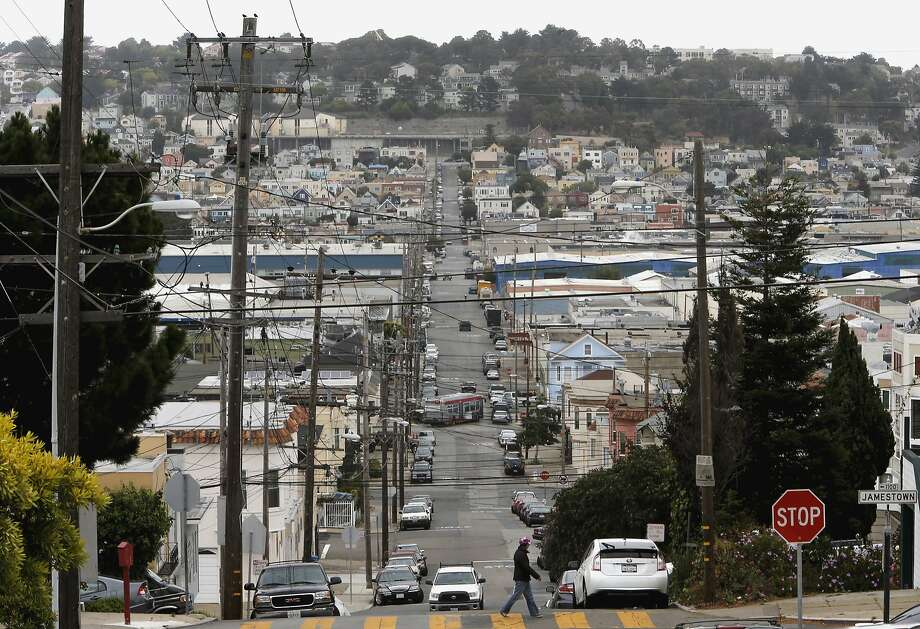 A view of the Bayview-Hunters Point neighborhood. Photo: Michael Macor, The Chronicle