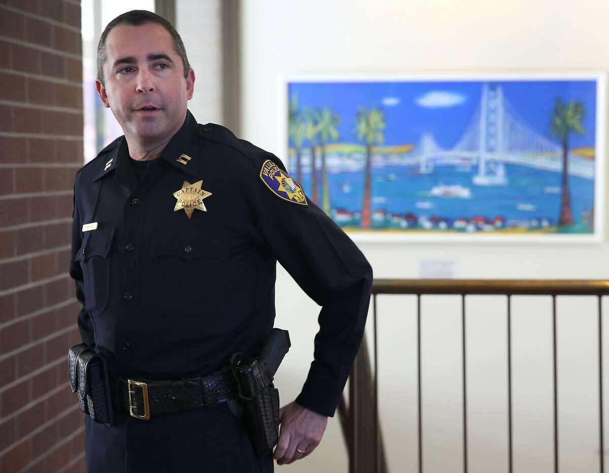 Vallejo Police Capt. John Whitney says the FBI has asked city officials not to comment on a kidnapping from March in Vallejo, Calif. on Tuesday, July 14, 2015. The FBI is investigating the bizarre kidnapping case, which Vallejo police originally determined to be a hoax, after a suspect was arrested for a botched home invasion in Dublin and possibly linking him to the kidnapping.