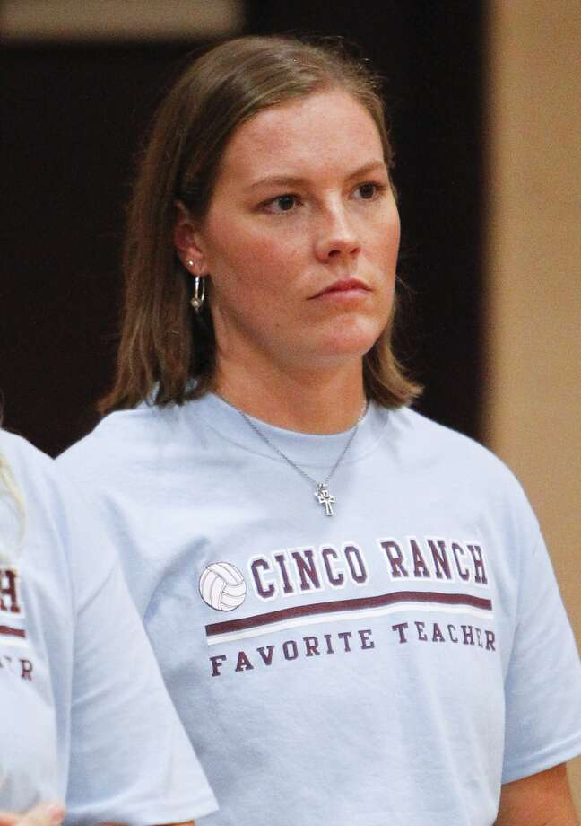 Cinco Ranch head volleyball coach Danielle Wells. Photo: Diana L. Porter, Freelance / © Diana L. Porter