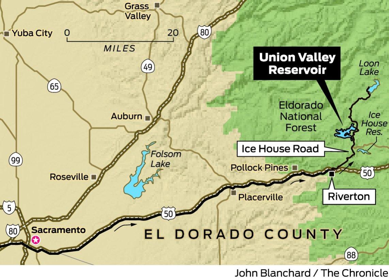 Sunday drive union valley reservoir san francisco chronicle for Union valley reservoir fishing