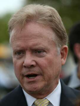 FILE: Former Virginia Senator Jim Webb has announced he is seeking the Democratic nomination for President. WASHINGTON, DC - APRIL 30:  Former U.S. Sen. and Vietnam war veteran Jim Webb (D-VA) speaks during a ceremony commemorating the 40th anniversary of the fall of Saigon near the Vietnam Veterans Memorial April 30, 2015 in Washington, DC. April 30 marks the day that the U.S. backed South Vietnamese government fell to North Vietnamese forces.  (Photo by Win McNamee/Getty Images)