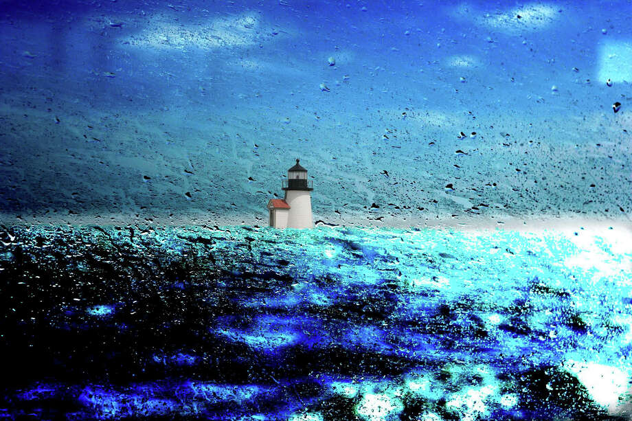 """""""Nantucket Ferry Window #1,"""" one of Darien photographer Ben Larrabee's images on display at Nantucket Looms through July 30, 2015. Photo: Contributed / Contributed Photo / Darien News"""