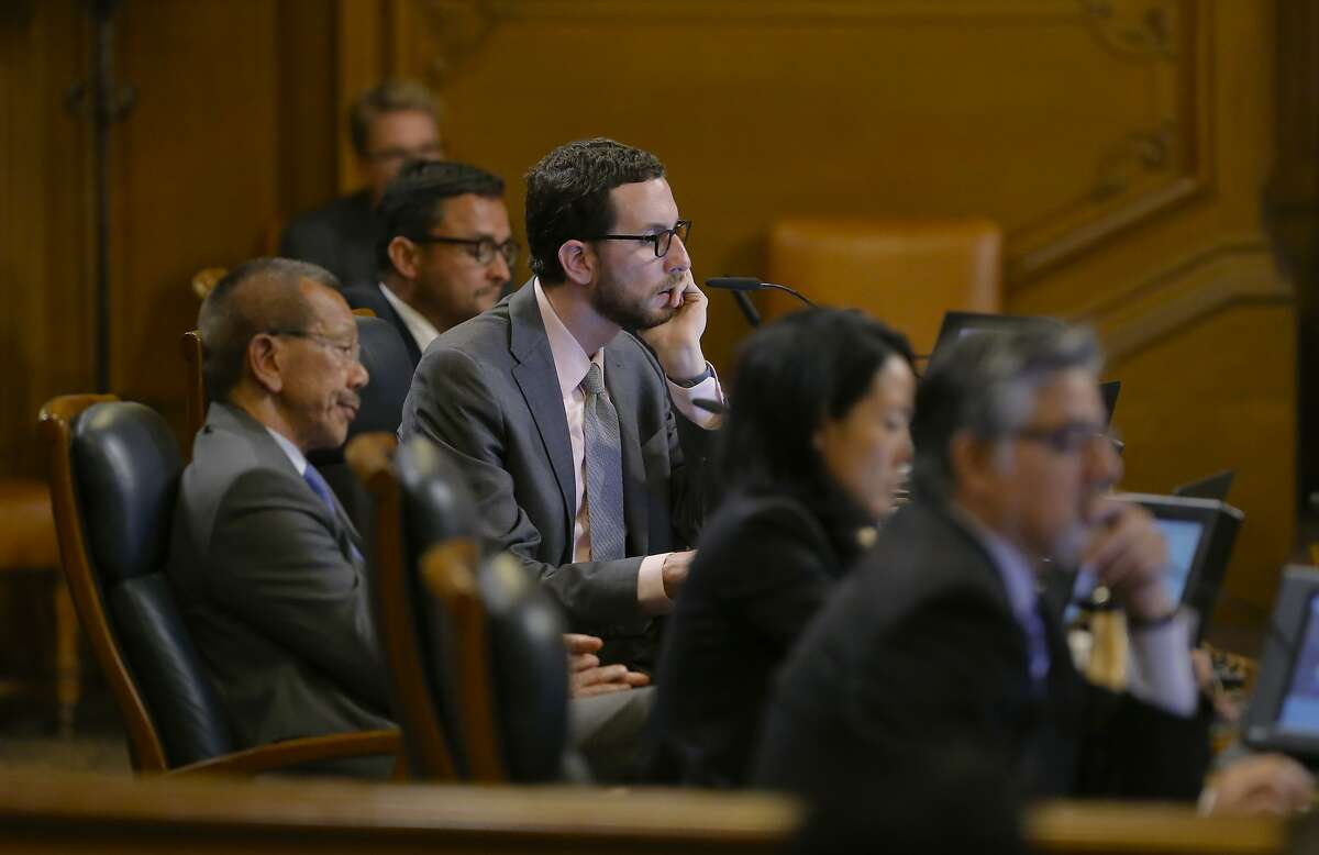 Supervisor Scott Wiener (center) won the state Democratic Party endorsement for Senate over the weekend.