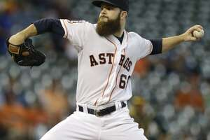 Dallas Keuchel says he could pitch two innings - Photo