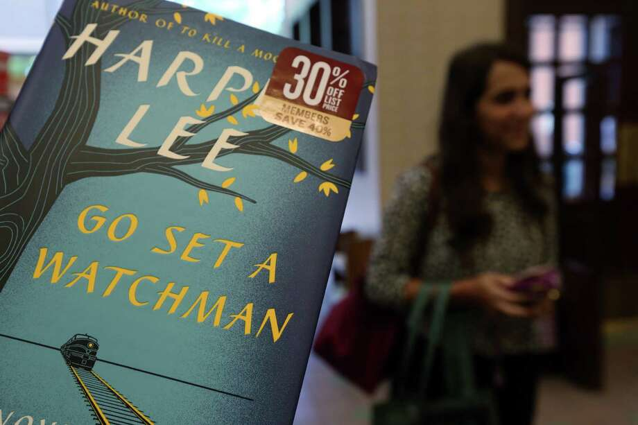 "Harper Lee's  ""Go Set a Watchman"" was released nationwide on Tuesday, July 14. ""Watchman""  is the most pre-ordered print title on Amazon.com since 2007's ""Harry Potter and the Deathly Hallows.""  Photo: Mayra Beltran, Staff / © 2015 Houston Chronicle"