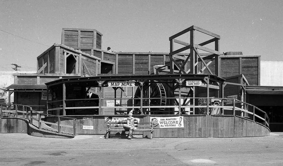 Photos taken on Aug. 17, 1972,the last day of operation at Playland at the Beach. The amusement park in San Francisco was demolished the next month. Photo: Greg Peterson, The Chronicle