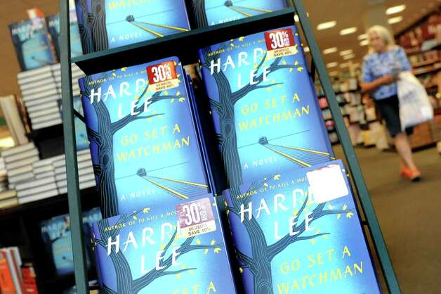 "Harper Lee's new release ""Go Set a Watchman"" is on display at Barnes and Noble on Tuesday, July 14, 2015, at Colonie Center in Colonie, N.Y. (Cindy Schultz / Times Union) Photo: Cindy Schultz / 00032591A"