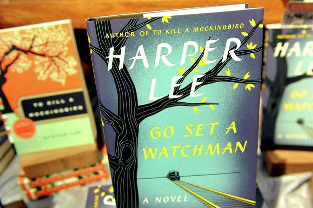 "Harper Lee's new book ""Go Set a Watchman"" on Tuesday, July 14, 2015, at Northshire Bookstore in Saratoga Springs, N.Y. (Cindy Schultz / Times Union) Photo: Cindy Schultz / 00032591A"