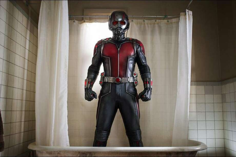 "Paul Rudd stars as the tiny superhero in ""Ant-Man."" (Photo courtesy Marvel Studios/TNS) Photo: Handout, McClatchy-Tribune News Service"