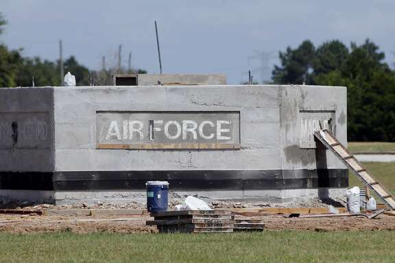 Errors on a monument to U.S. armed services are being corrected, said Fort Bend County Commissioner Andy Meyers.