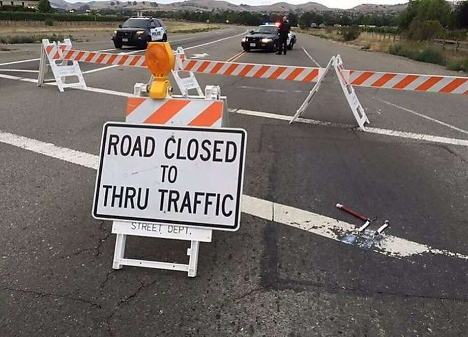 Hwy  84 in Livermore closed until about 7 p m  after deadly