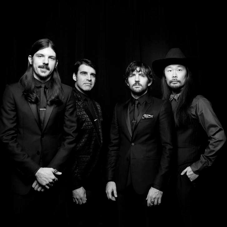 The Avett Brothers play The Woodlands Pavilion on Friday.