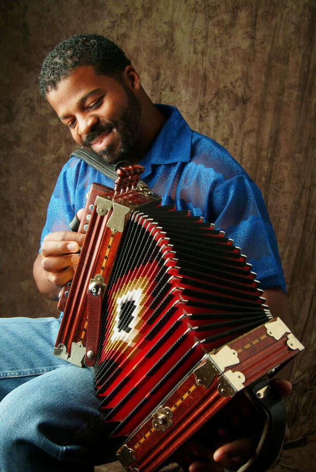 Step Rideau and the Zydeco Outlaws will perform Saturday in Angleton. / handout