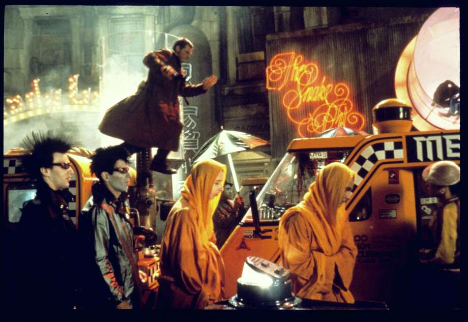 Blade Runner a Warner Bros. Film Starring Harrison Ford, directed by Ridley Scott 1982 / handout