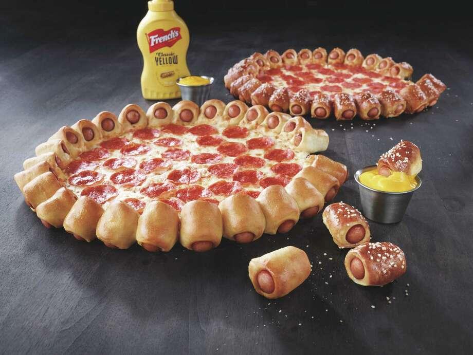 Pizza Hut's new Hot Dog Bites Pizza Photo: -