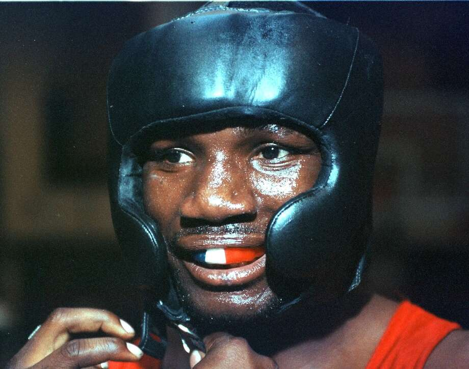 """Tony """"Sewa"""" Marshall during a workout Thursday, June 16, 1999, at  St. Joseph's Boxing Club in Albany. (James Goolsby/ Times Union archive) Photo: JAMES GOOLSBY / ALBANY TIMES UNION"""