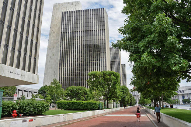 Agency buildings at the Empire State Plaza Tuesday July 14, 2015 in Albany, NY.  (John Carl D'Annibale / Times Union) Photo: John Carl D'Annibale, Albany Times Union