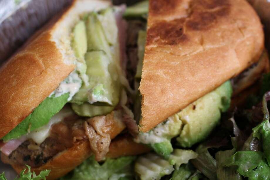 Cuban sandwich at Parada 22 on Haight Street in S.F. Photo: Tamara Palmer