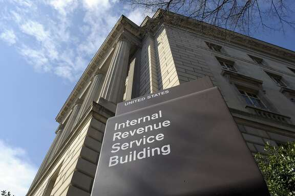 The exterior of the Internal Revenue Service building in Washington is shown in this file photo. A man has been charged in federal court in San Jose with making threats at an IRS taxpayer assistance center in Salinas. (AP Photo/Susan Walsh, File)