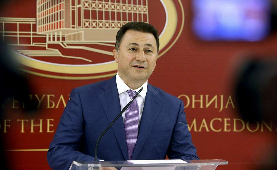 Prime Minister Nikola Gruevski has agreed to step down by Jan. 15 to pave the way for new elections in the spring. Photo: Boris Grdanoski, Associated Press