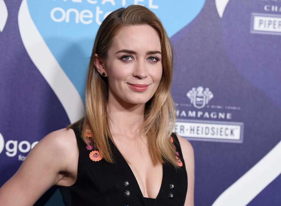 Emily Blunt arrives at unite4:good and Variety's 2nd annual unite4:humanity at the Beverly Hilton Hotel on Thursday, Feb. 19, 2015, in Beverly Hills, Calif.  (Photo by Jordan Strauss/Invision/AP) ORG XMIT: CACJ122 Photo: Jordan Strauss / Invision