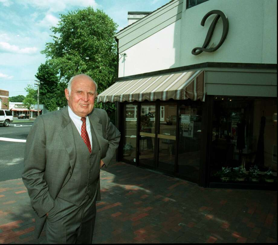 Stephen Zangrillo, owner of the Darien Sport Shop, in 1997. Zangrillo died in his Darien home July 8, 2015 at age 91. Photo: ST