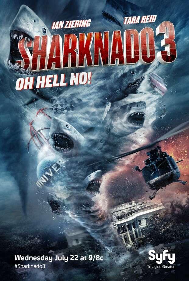 'Sharknado 3' poster