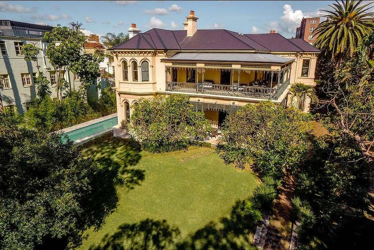 Director Baz Luhrmann put this gorgeous Sydney mansion on the market with a listing price of $16 million.