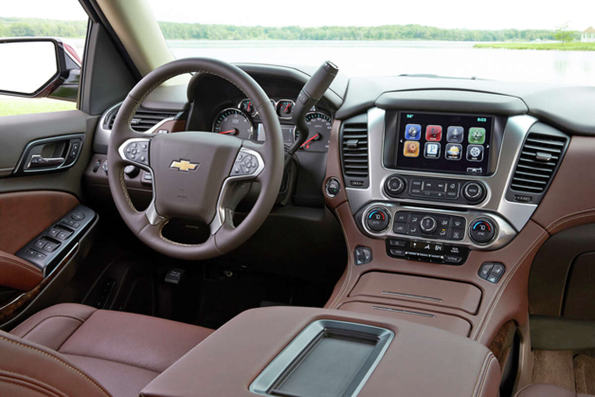 2015 Chevy Suburban LTZ 4WD (photo courtesy General Motors Corp.)
