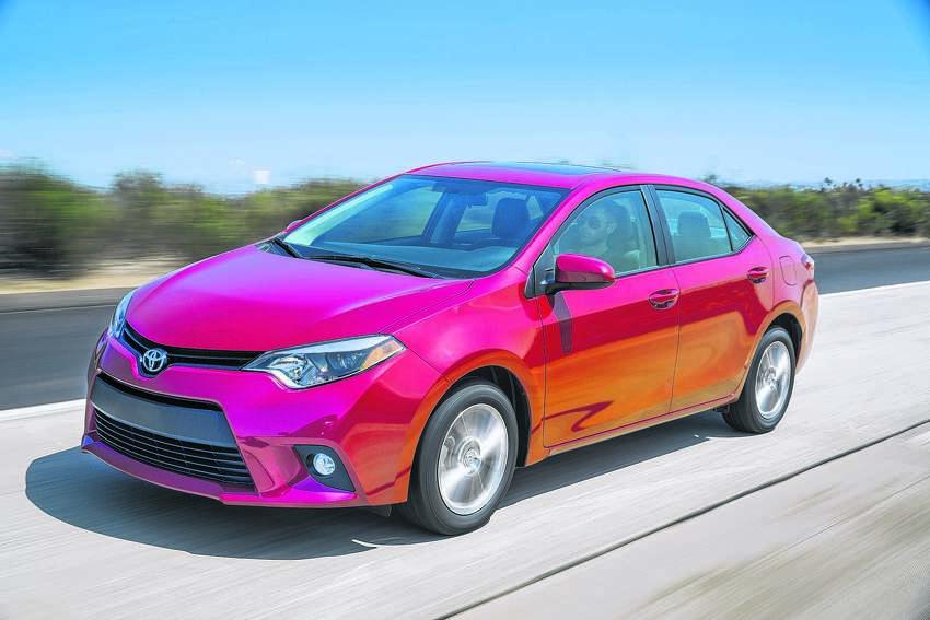 2015 Toyota Corolla LE Premium (photo courtesy Toyota Motor Corp.)