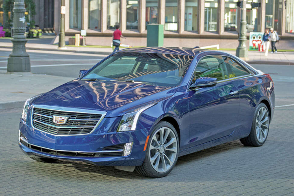 2015 Cadillac ATS Coupe 2.0 Premium (Photo by Steve Fecht for Cadillac)
