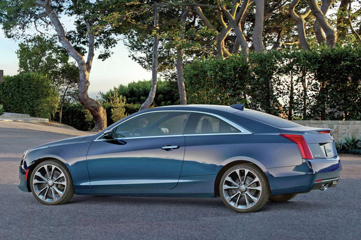 2015 Cadillac ATS Coupe 2.0 Premium (photo courtesy Cadillac)