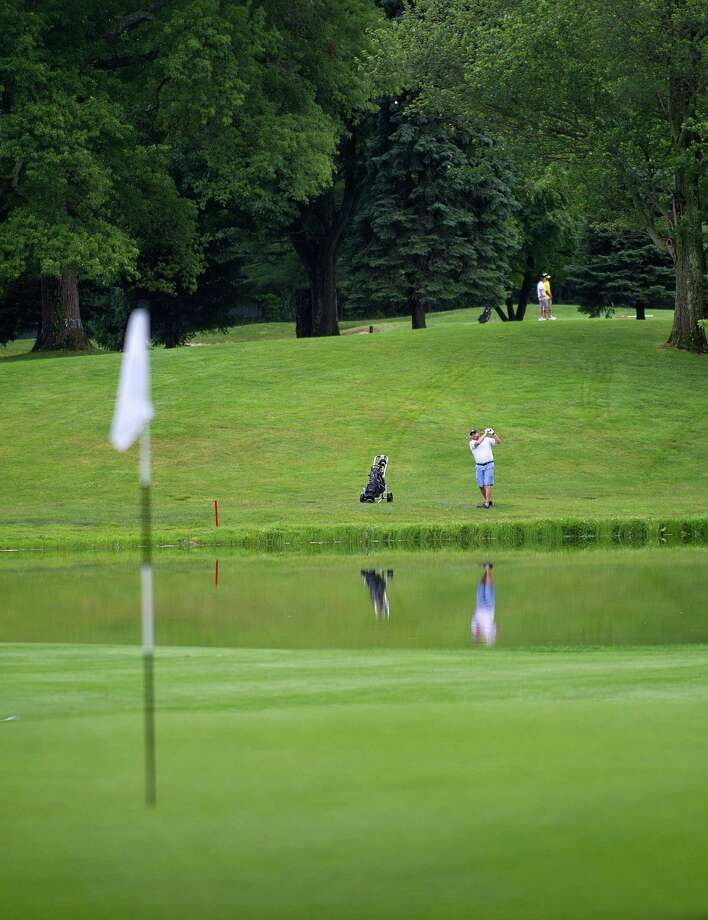 Two men are suing Sterling Farms Golf Course, one for getting hit in the head with a ball. Photo: Lindsay Perry / For Hearst Connecticut Media / Stamford Advocate Freelance