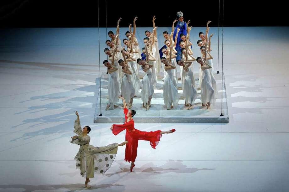 National Ballet of China (Courtesy National Ballet of China) Photo: SHI-REN / NBC