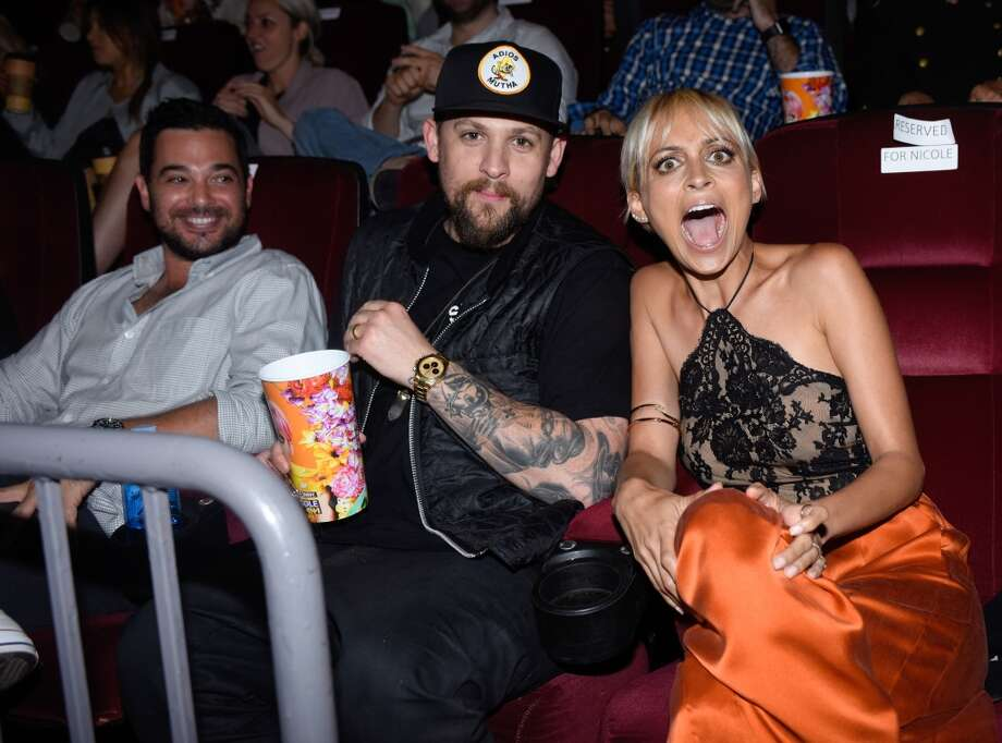 Singer Joel Madden (C) and Nicole Richie attend VH1's 'Candidly Nicole' Season 2 Premiere Event at House of Harlow at The Grove on July 7, 2015 in Los Angeles, California. Photo: Jeff Vespa, Getty Images For VH1