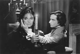 """Jacqueline Bisset and Jean-Pierre Leaud in Francois Truffaut's """"Day for Night."""""""