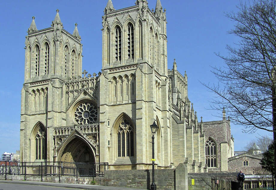 In a little more than a week, 30 boys and girls, choristers at Christ Church Greenwich, will set off from the Putnam Avenue parking lot on the first leg of a journey that will take them more than 8,000 miles. Their destination is the ancient cathedral of Bristol (pictured) in the South-West of England. There they will provide music at all worship services, as choir-in-residence for a week. Photo: Contributed / Contributed Photo / Greenwich Time Contributed