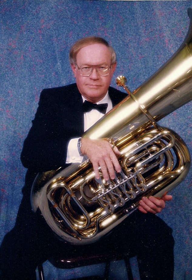 John Nolan Walton, an accomplished tuba player, Photo: Courtesy