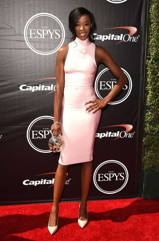 LOS ANGELES, CA - JULY 15:  Volleyball player Destinee Hooker attends The 2015 ESPYS at Microsoft Theater on July 15, 2015 in Los Angeles, California.  (Photo by Jason Merritt/Getty Images) Photo: Jason Merritt, Getty Images