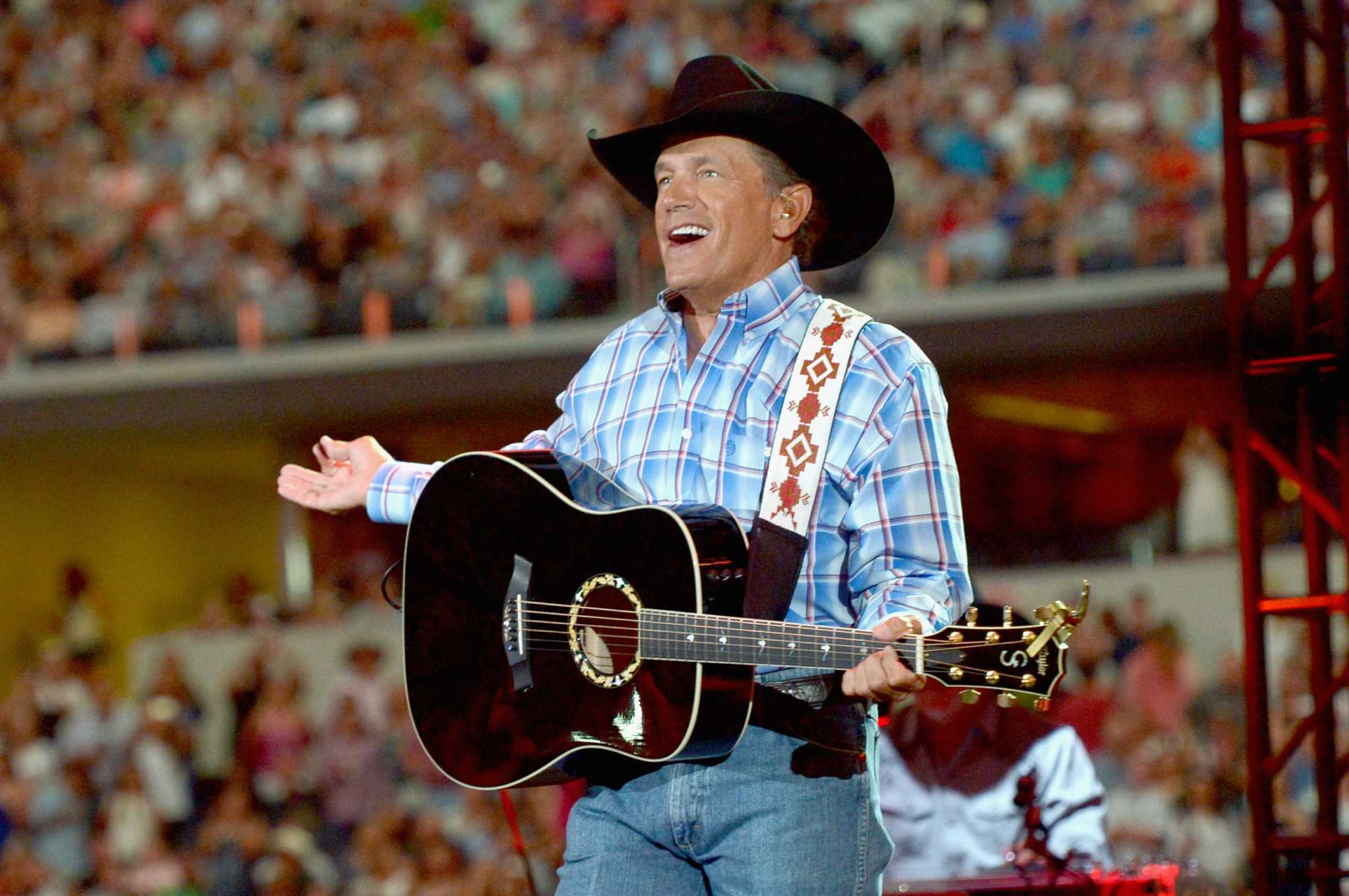 george strait king of country music George harvey strait (born may 18, 1952 in pearsall, texas) is an american country music artist he is known for his unique style of western swing music, bar-room ballads, honky-tonk style, and fresh yet traditional country western music.