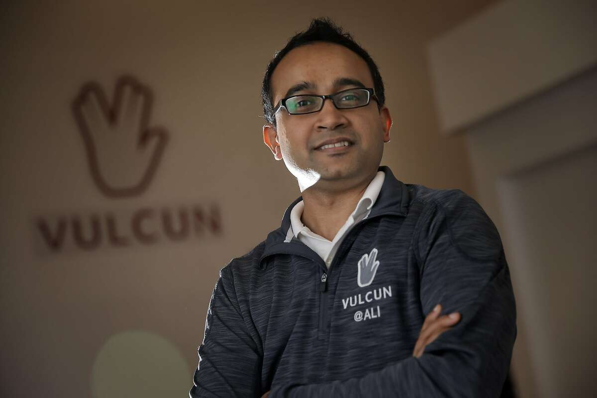 Ali Moiz, CEO and co-founder, at the Vulcun headquarters in San Francisco, Calif., on Wednesday, July 15, 2015. Fantasy leagues for pro sports are well established, but now there are fantasy leagues for professional video game esports players. One is San Francisco's Vulcun, which launched in January and offers a total prize pool of $10 million.